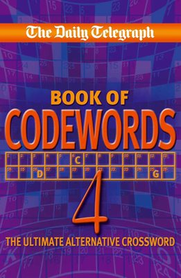 Book cover for Daily Telegraph Codewords 4